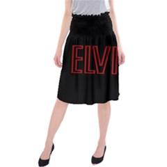 Elvis Presley Midi Beach Skirt