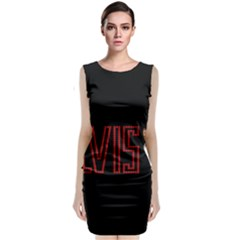 Elvis Presley Classic Sleeveless Midi Dress