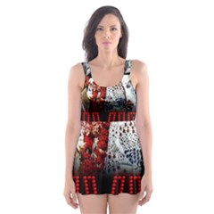 Elvis Presley Skater Dress Swimsuit