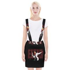 Elvis Presley Braces Suspender Skirt