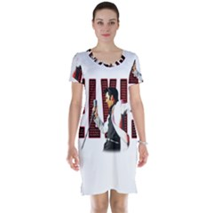 Elvis Presley Short Sleeve Nightdress