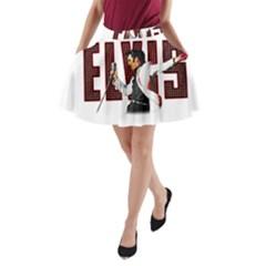 Elvis Presley A Line Pocket Skirt