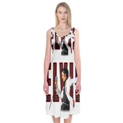 Elvis Presley Midi Sleeveless Dress