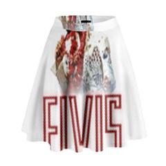 Elvis Presley High Waist Skirt