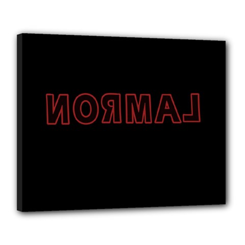 Normal Canvas 20  X 16