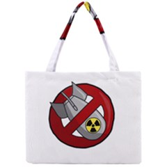No Nuclear Weapons Mini Tote Bag