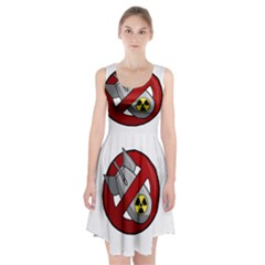 No Nuclear Weapons Racerback Midi Dress