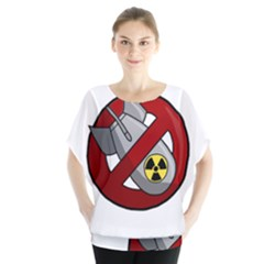 No Nuclear Weapons Blouse