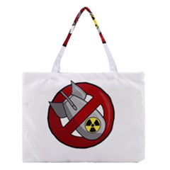 No Nuclear Weapons Medium Tote Bag