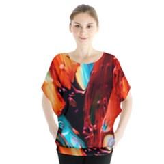 Abstract Acryl Art Blouse