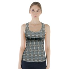 Earth Tiles Racer Back Sports Top