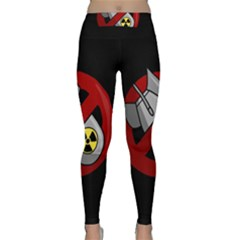 No Nuclear Weapons Classic Yoga Leggings