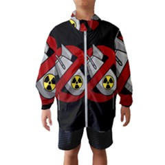 No Nuclear Weapons Wind Breaker (kids)