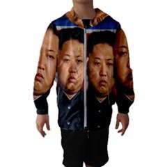 Kim Jong Un Hooded Wind Breaker (kids)
