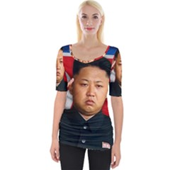 Kim Jong Un Wide Neckline Tee