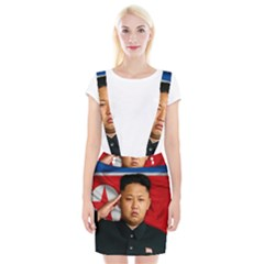 Kim Jong Un Braces Suspender Skirt