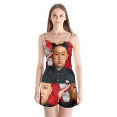 Kim Jong Un Satin Pajamas Set