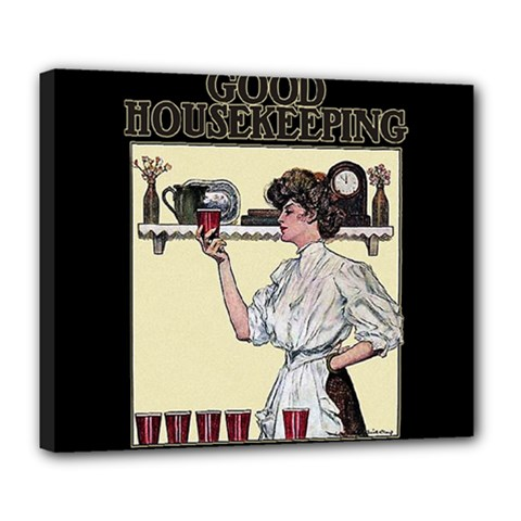 Good Housekeeping Deluxe Canvas 24  X 20