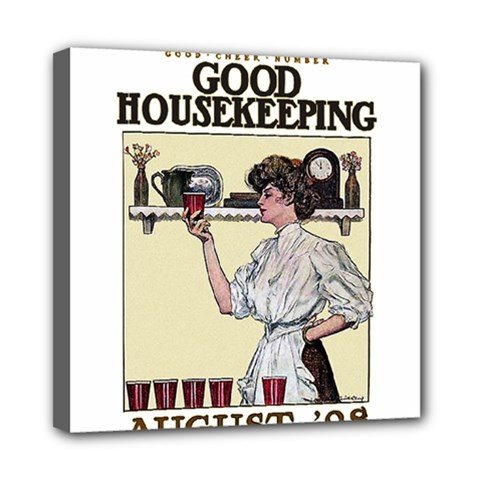 Good Housekeeping Mini Canvas 8  X 8