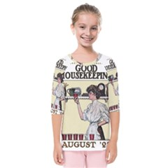 Good Housekeeping Kids  Quarter Sleeve Raglan Tee