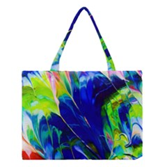 Abstract Acryl Art Medium Tote Bag
