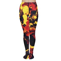 Abstract Acryl Art Women s Tights