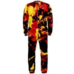 Abstract Acryl Art Onepiece Jumpsuit (men)