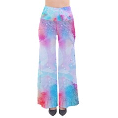 Pink And Purple Galaxy Watercolor Background  Pants
