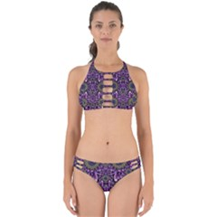 Flowers From Paradise In Fantasy Elegante Perfectly Cut Out Bikini Set