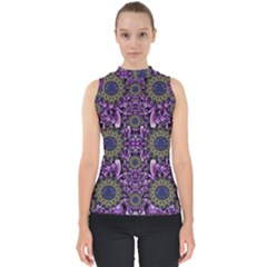 Flowers From Paradise In Fantasy Elegante Shell Top