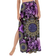 Flowers From Paradise In Fantasy Elegante Maxi Chiffon Tie Up Sarong