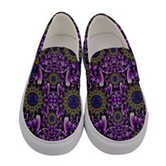 Flowers From Paradise In Fantasy Elegante Women s Canvas Slip Ons