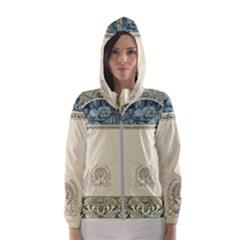 Art Nouveau Hooded Wind Breaker (women)