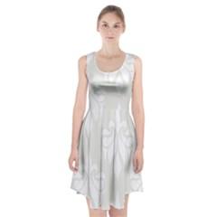 Fleur De Lis Racerback Midi Dress