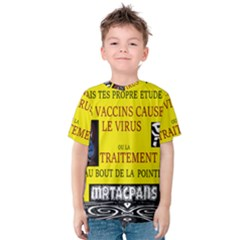 Ronald Story Vaccine  Kids  Cotton Tee