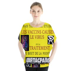 Ronald Story Vaccine  Blouse