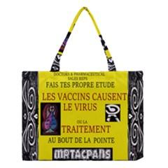 Ronald Story Vaccine  Medium Tote Bag