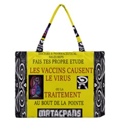 Ronald Story Vaccine  Zipper Medium Tote Bag