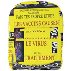 Ronald Story Vaccine  Full Print Backpack