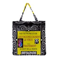 Vaccine  Story Mrtacpans Grocery Tote Bag