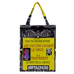 Vaccine  Story Mrtacpans Classic Tote Bag