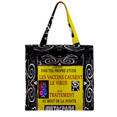 Vaccine  Story Mrtacpans Zipper Grocery Tote Bag