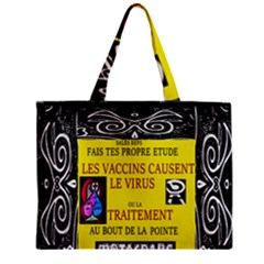 Vaccine  Story Mrtacpans Zipper Mini Tote Bag