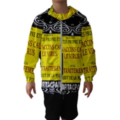 Vaccine  Story Mrtacpans Hooded Wind Breaker (kids)