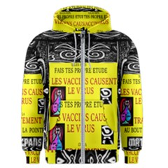 Vaccine  Story Mrtacpans Men s Zipper Hoodie
