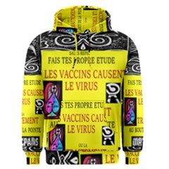 Vaccine  Story Mrtacpans Men s Pullover Hoodie