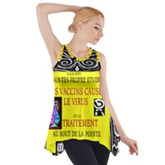Vaccine  Story Mrtacpans Side Drop Tank Tunic