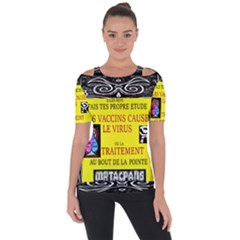 Vaccine  Story Mrtacpans Short Sleeve Top