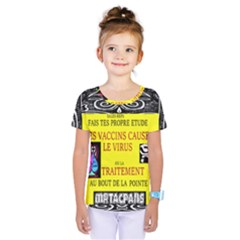 Vaccine  Story Mrtacpans Kids  One Piece Tee