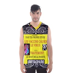 Vaccine  Story Mrtacpans Men s Basketball Tank Top